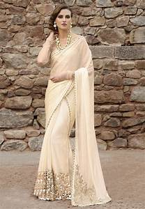 17 Best images about white wedding sarees on Pinterest ...