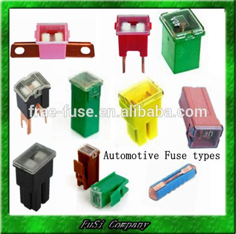 Automotive Fuse (different Types Of Fuse)