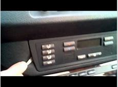 BMW X5 Heater Control Panel Removal And Installation
