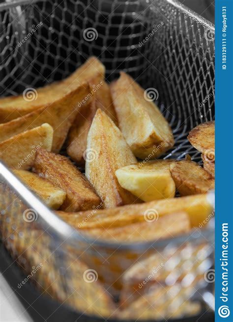fat deep appliance fryer unhealthy chips vegetable cooking fast concept oil shallow