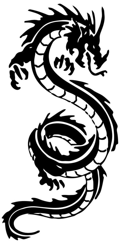 OnlineLabels Clip Art - Tribal Dragon 42