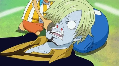 One Piece Sanji Nosebleed Gif