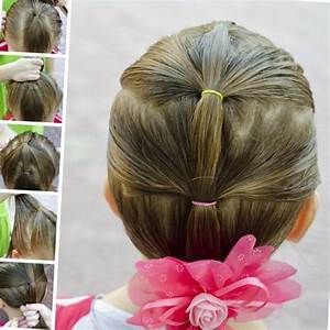 Coiffure Facile Pour Petite Fille : coiffure petite fille simple tendances 2019 ~ Nature-et-papiers.com Idées de Décoration