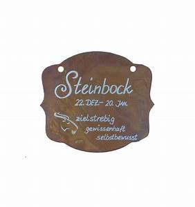 11 Dezember Sternzeichen : rostschild sternzeichen steinbock 13 x 11 cm 22 dezember bis 20 januar ~ Markanthonyermac.com Haus und Dekorationen