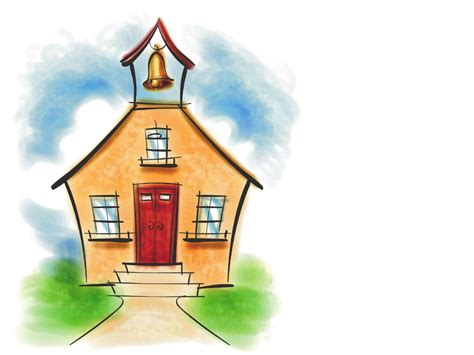 Free School House Picture, Download Free Clip Art, Free Clip Art On Clipart Library