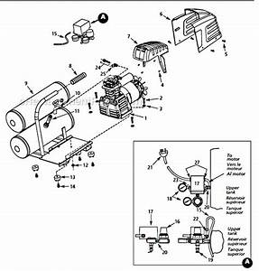 Campbell Hausfeld Hl550200 Parts List And Diagram