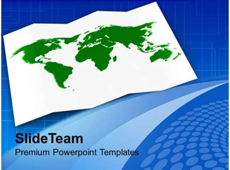 world map global business powerpoint templates  themes