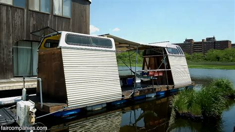 truck caps built cabins floating recycled micro diy tinyhousetalk