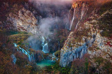 Autumn Plitvice Lakes National Park Croatia Pic