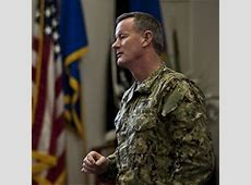 William McRaven Special Operations Command Seeks Global