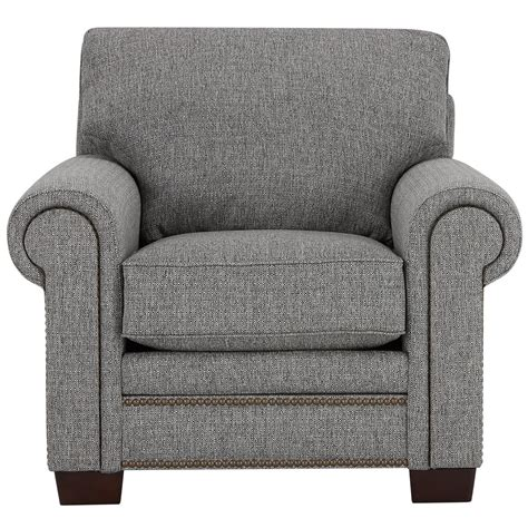 city furniture foster gray fabric chair