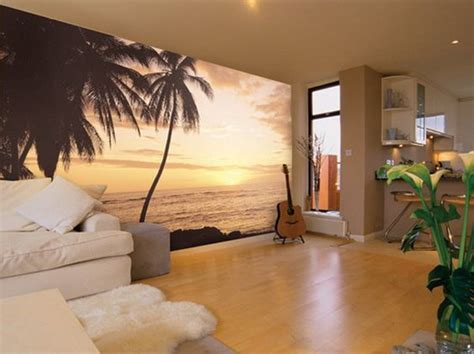 divine tropical wall murals  enter summer   home