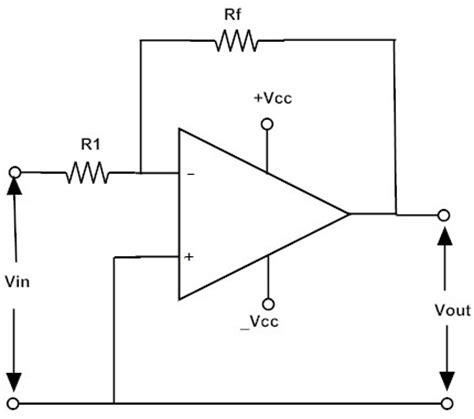 Inverting Operational Amplifiers Working Applications