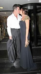 Simon Cowell et sa fiancée Laura Silverman (robe et sac ...