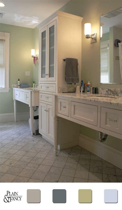 Calm Bathroom Colors by Bathroom With A Calm Mixture Of Color Bathroom
