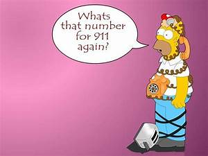 Funny Simpson Wallpapers