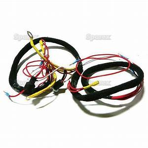 Ford Tractor Main Wiring Harness 501 601 701 801 901 2000
