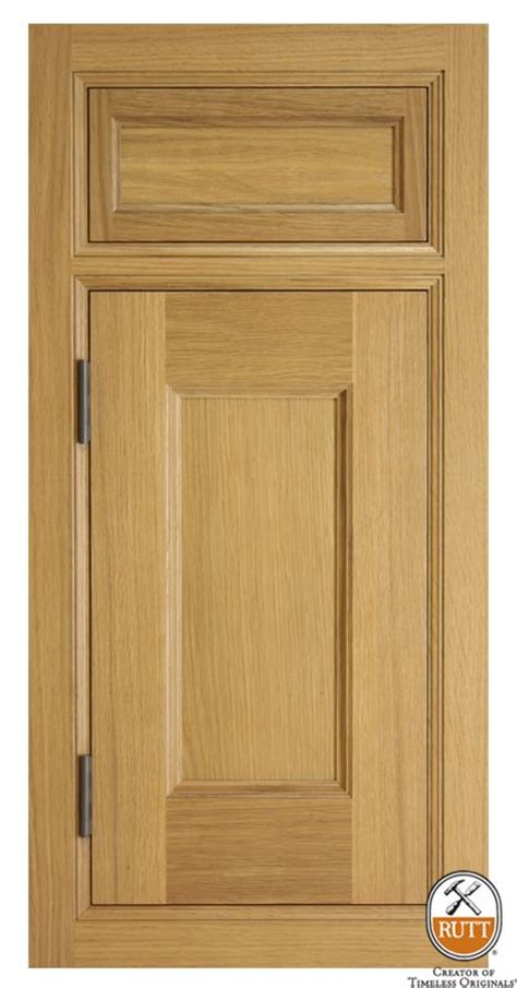 Rutt Cabinets Door Styles by Ruskin Inset Riftcut White Oak Barley Stain Door