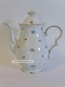 Mitterteich Bavaria Goldrand : antike mitterteich bavaria porzellan kaffeekanne goldrand ~ Michelbontemps.com Haus und Dekorationen