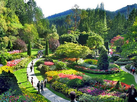 butchart gardens in canada