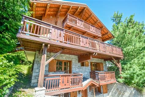 chalet for sale in meribel les allues savoie modern 6 bedroom chalet and large plot with