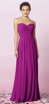 plum bridesmaid dress 25 best ideas about magenta bridesmaid dresses on bright purple bridesmaid gown