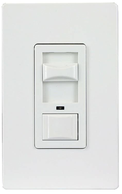 decorator rocker 3 way wall dimmer light switch for