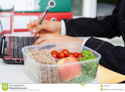 lunchbox  work stock image image  service breakfast