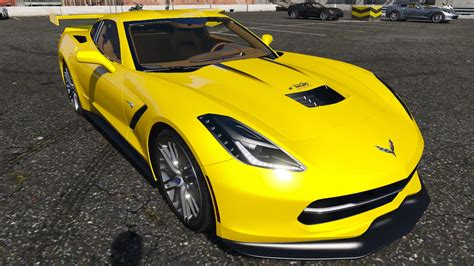 2018 Chevrolet Corvette Stingray C7 Gta5 Modscom