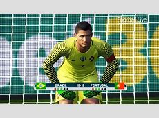 PES 2017 goalkeeper NEYMAR vs goalkeeper CRONALDO