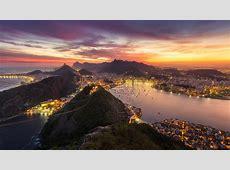 1920x1080 Rio De Janeiro Brazil Cityscape Evening Sunset