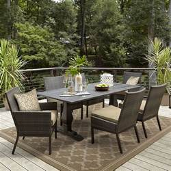 grand resort monterey outdoor dining table limited