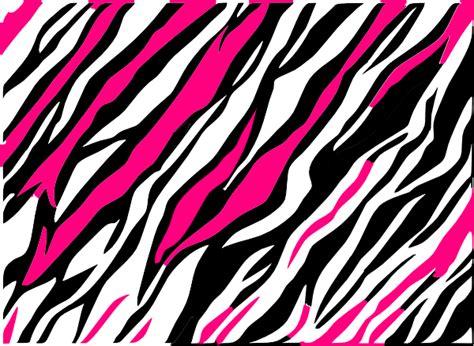 Black And White Zebra Print Background Clip Art At Clker