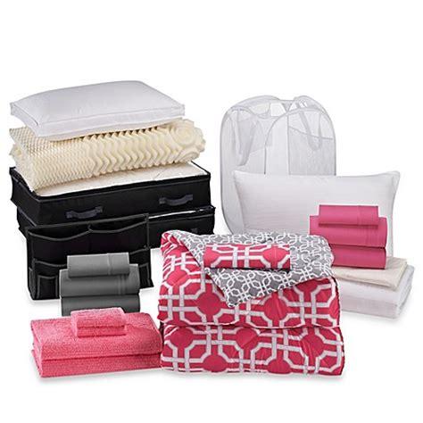 Quinn 21piece Classic Dorm Room Kit  Bed Bath & Beyond