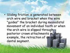 Friction Implications In Orthodontics