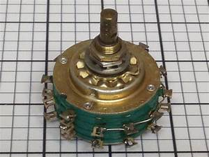 Used Rotary Switch Stackpole 304