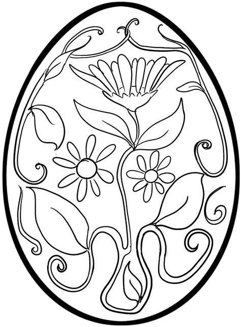 coloring easter eggs free coloring pages of easter egg