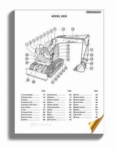 Caterpillar 313c Cr Track Type Excavator Parts Manual