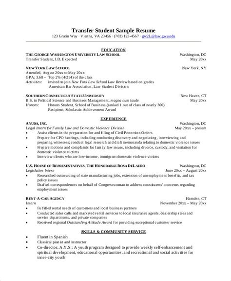 Microsoft word has resume templates available for users. 9+ Student Resume Templates - PDF, DOC | Free & Premium Templates
