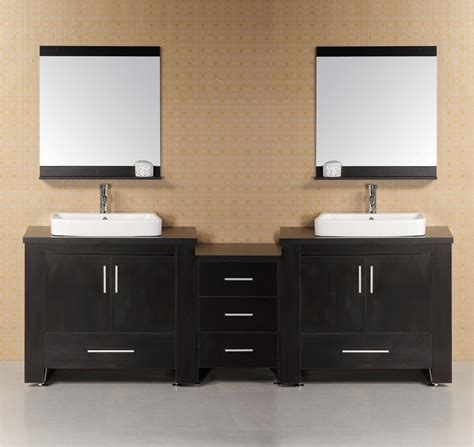 2 sink bathroom vanity 92 quot washington dec083 e double sink vanity set