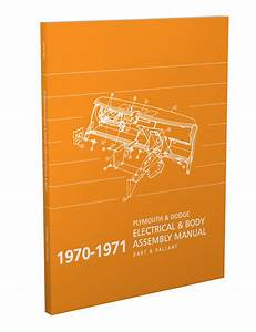 1971 Plymouth Duster  Scamp   U0026 Valiant Wiring Diagram Manual Reprint