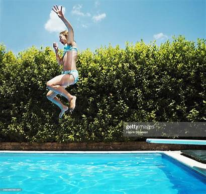 Pool Jumping Into Side Swimming Res Getty