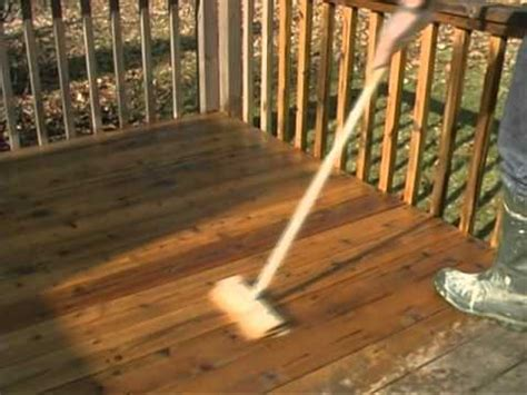 wood deck staining   remove failed stain youtube