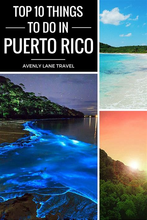 Top 10 Things To Do In Puerto Rico  푸에르토리코 및 여행