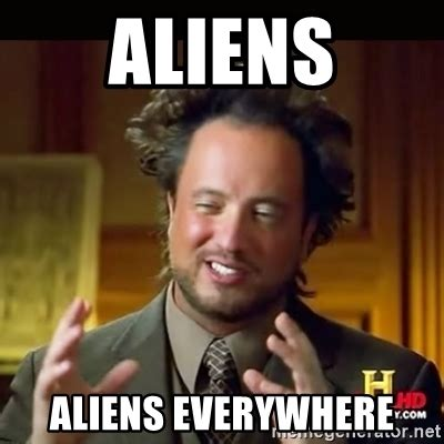 Where Did The Aliens Meme Come From - bdb ain t no party like a brown tide party another fish kill and aliens