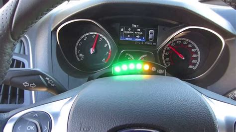ecliptech shift light fitted    ford focus st youtube