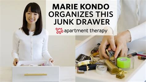 Kitchen Organization Apartment Therapy by Kondo Organizes A Junk Drawer Apartment Therapy