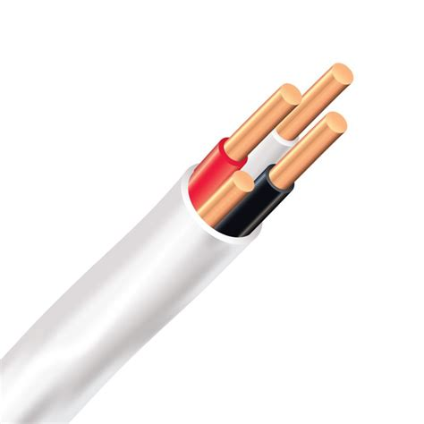 southwire romex simpull nmd90 copper electrical cable 14 3 white 5m the home depot canada