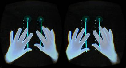 Vr Hands Virtual Reality Leapmotion Into Hand