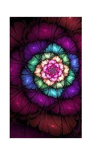 Wallpaper : digital art, 3D, purple, circle, pink ...
